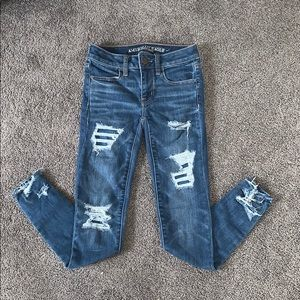 American Eagle Mid Rise Jegging